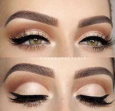 Eyeshadow And Eyeliner Technique Ideas That Will Bring Your Eyes To The Fore. Page Number 20 - Makeup Tips Tutorials Makeup Trends, Makeup Inspo, Makeup Inspiration, Makeup Ideas, Makeup Geek, Makeup Tutorials, Skin Makeup, Eyeshadow Makeup, Beauty Makeup