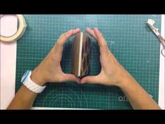 Scrap i Pebre: Cómo hacer un mini album con sobres kraft - TUTORIAL Scrapbook.. demasiado fáaaaacil, con maskintape