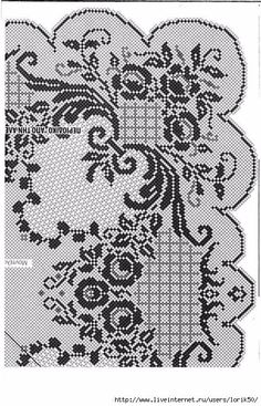 images attach c 3 121 917 Crochet Dollies, Crochet Doily Patterns, Thread Crochet, Crochet Motif, Crochet Stitches, Embroidery Patterns, Crochet Designs, Filet Crochet Charts, Crochet Diagram