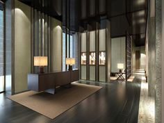 View full picture gallery of Four Seasons Hotel Pudong Spa Interior, Lobby Interior, Interior Architecture, Interior Design, Lobby Design, Four Seasons Hotel, Spa Luxe, Restaurant Hotel, Public Hotel