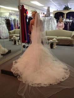 I said YES!!!! :  wedding dress i said yes maggie sottero adalee My Back Of My Dress