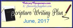 June 2017 Scripture