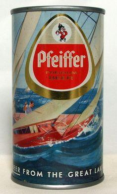 Phieffer Beer , Scenic series , Detroit - 1960 / FT
