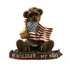 Boyds Bears Resin TEDDY PATRIOT..HOMETOWN HERO 4044572 Soldier Patriotic Military BOYDS BEARS RESIN http://www.amazon.com/dp/B00NY01YAS/ref=cm_sw_r_pi_dp_wQYkub18N44YN