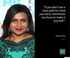 Happy birthday, Mindy Kaling! We love your inspiration and advice to #women and young girls about success, representation, and girl power. #WheresTheFP