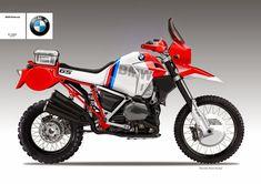 """Motosketches: BMW R 1200 """"GASTON"""" Concept"""