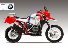Best Dual Sport Motorcycle Concept: BMW R1200GS GASTON CONCEPT