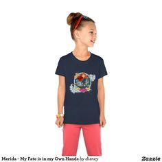 Princess - Merida - My Fate is in my Own Hands T Shirt. Producto disponible en tienda Zazzle. Vestuario, moda. Product available in Zazzle store. Fashion wardrobe. Regalos, Gifts. #camiseta #tshirt