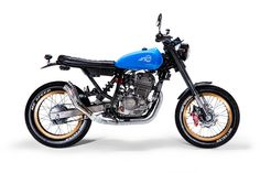 Honda CBX250 cafe racer