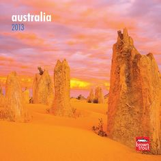 Australia Mini Wall Calendar: This thrilling mini wall calendar treks across the wondrous land of Australia. Take a walkabout through the Outback to the Great Barrier Reef, then back to the wondrous island of Tasmania. http://www.calendars.com/Australia-2013-Mini-Wall-Calendar/Australia-2013-Mini-Wall-Calendar/prod201300004762/?categoryId=cat00703=cat00703