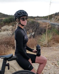 Bicycle Girl, Bike, Bicycling, My Ride, Wetsuit, Track, Sporty, Cold, Sunglasses