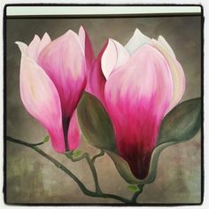 Magnolia made by me#painting