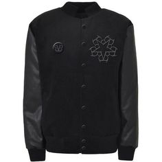 Official Black Veil Brides Class Letterman Jacket | Black Veil Brides ❤ liked on Polyvore featuring outerwear, jackets, bride jacket, varsity style jacket, varsity jacket, varsity bomber jacket and varsity-style bomber jacket