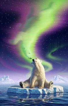 Arctic Kiss by Jerry LoFaro   Fantasy   2D   CGSociety