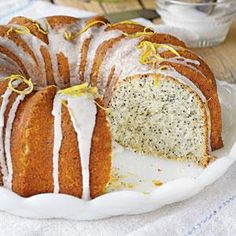 Lemon-Poppy Seed Bundt Cake | MyRecipes.com