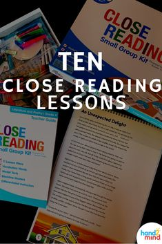 Close Reading develops critical, analytical readers through an interactive, close reading experience in a small group setting! Close Reading Poster, Close Reading Lessons, Close Reading Strategies, Reading Posters, Literacy Stations, Literacy Centers, Student Reading, Guided Reading, Making Words