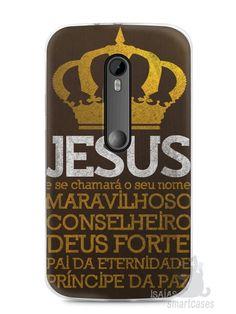 Capa Moto G3 Jesus #4 - SmartCases - Acessórios para celulares e tablets :)