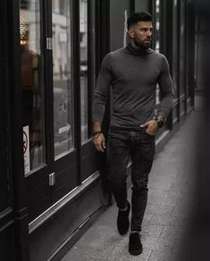 Men's Outfits 2021   Lookastic Men Fashion Show, Mens Fashion Blog, Fashion 2020, Fashion Advice, Men's Fashion, Sweet Style, Well Dressed, Style Guides, Fitness Tips