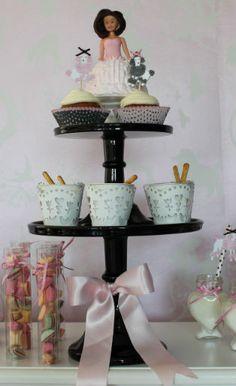Chocolade fondue dessert table idee