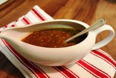 Roasted Tomatillo and Arbol pepper salsa/Salsa de Chile de Arbol y Tomatillos Asados.