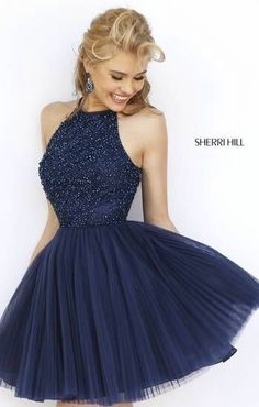 Sherri Hill blue dress