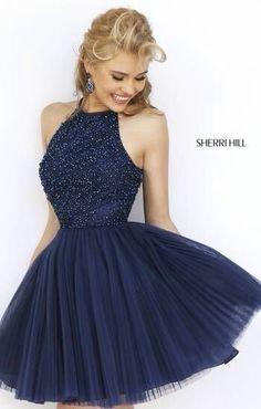 Sherri Hill blue dress