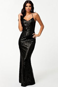 Cheap Black All over Sequin Low Back Gown online - All Products,Fashion Dresses,Evening Dresses Halter Maxi Dresses, Sequin Dress, Prom Dresses, Gown Dress, Long Prom Gowns, Formal Evening Dresses, Formal Dress, Black Party Dresses, Nice Dresses