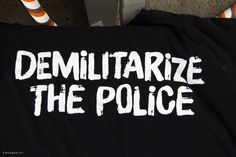 Too many cover ups and use of secret military weapons in the police these days. DEMILITARIZE the POLICE!
