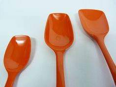 Rosti Mepal of Denmark spoons by planetutopia on Etsy, £15.00