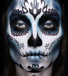 best sugar skull makeup i've ever seen