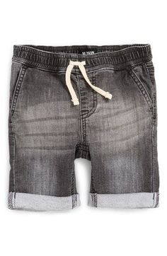 Hudson Kids Roll Cuff French Terry Shorts (Baby Boys)