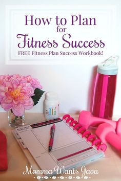 Crush your fitness goals! Grab this free printable workbook & start your…