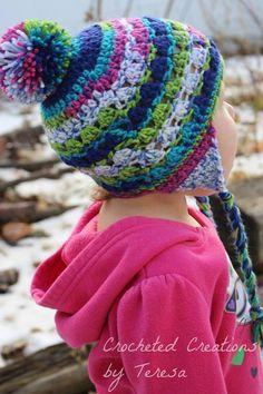 Ravelry: Snow Bird Hat pattern by April Hudson Knitting For Kids, Crochet For Kids, Baby Knitting, Free Crochet, Knit Crochet, Crochet Baby Hats, Crochet Scarves, Crochet Clothes, Crochet Christmas Hats