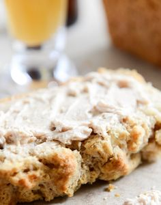 White Cheddar Beer Bread