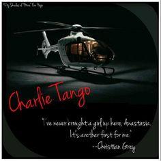 Charlie Tango #FiftyShadesofGrey by E L James