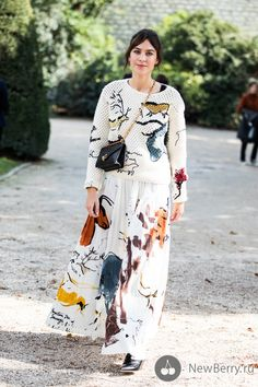 Street style на неделе моды в Париже весна-лето 2018