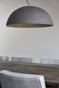 Foto van product 'Betonstuc lamp 50' - beweeg je muis over het plaatje voor een…