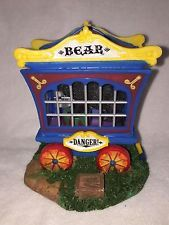 Lemax Village Collection Carnival- BEAR CAGE