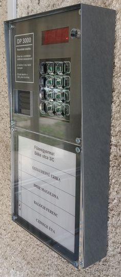 Tegye tartósabbá DP3000 vagy Codefon társasházi kaputelefon rendszerét! Rozsdamentes burkolatok és védőplexi szerelésével!