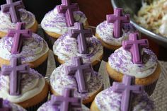 First Communion Cupcakes :)