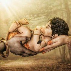 Hanuman Images Hd, Ganesh Images, Jai Shree Krishna, Radhe Krishna, Hanuman Jayanthi, Hanuman Wallpaper, Chakra Art, Cute Songs