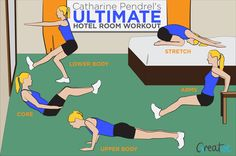 Work out like a pro, wherever you go!
