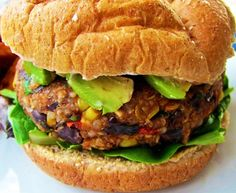MUSCLE-BUILDING BLACK BEAN & QUINOA VEGGIE BURGERS - These veggie burgers are hearty, and hit the spot after an intense workout. This recipe has a macronutrient ratio that's ideal for building muscle with approximately 20% protein, 65% carbs, and 15% fats. GET RECIPE: https://www.vegetarianbodybuilding.com/black-bean-quinoa-veggie-burgers/