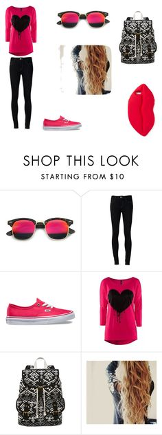 """""""weekend getaway"""" by nora-simpson on Polyvore featuring Revo, Vans, SM New York and STELLA McCARTNEY"""