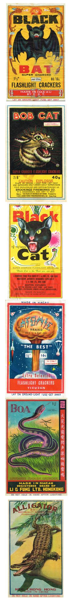 Firecracker Labels -