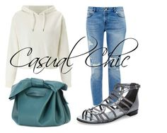 """""""Casual Chic Denim"""" by ojomrs on Polyvore featuring Miss Selfridge, Ted Baker, ZAC Zac Posen, Marc Fisher and WardrobeStaples"""