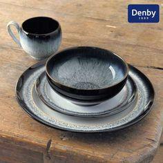 Denby Halo 16 Piece Dining Box Set | Dunelm