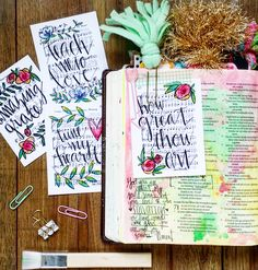 Growing Meadows: How Great Thou Art Bible Journaling
