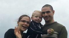 This is my sister Sarah and my brother Mathew with his son Seth