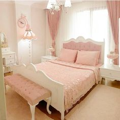 Rose Gold Bedroom Glamor Ideas That Will Mesmerize You is part of Girly bedroom - Choosing one particular color for your bedroom decor can be very confusing You will have to face tons of options with their own characteristic which may or may not suit Pink Bedroom Decor, Pink Bedrooms, Gold Bedroom, Modern Bedroom, Master Bedroom, Bedroom Sets, Teen Bedroom, Ladies Bedroom, Woman Bedroom
